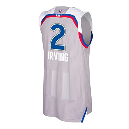 meet 334ed 9ab3d adidas Kyrie Irving Cleveland Cavaliers NBA Grey '17 All Star Climacool  Swingman Jersey