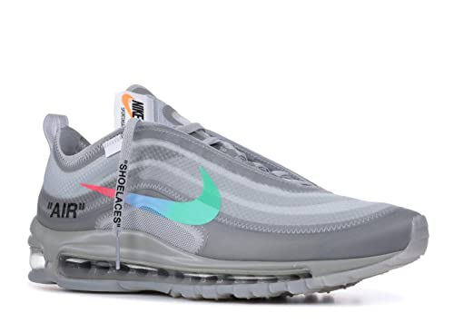 17a70b573f9 Nike Air MAX 97 x Off White - Off White/Menta-Wolf Grey Trainer: Amazon.es:  Zapatos y complementos