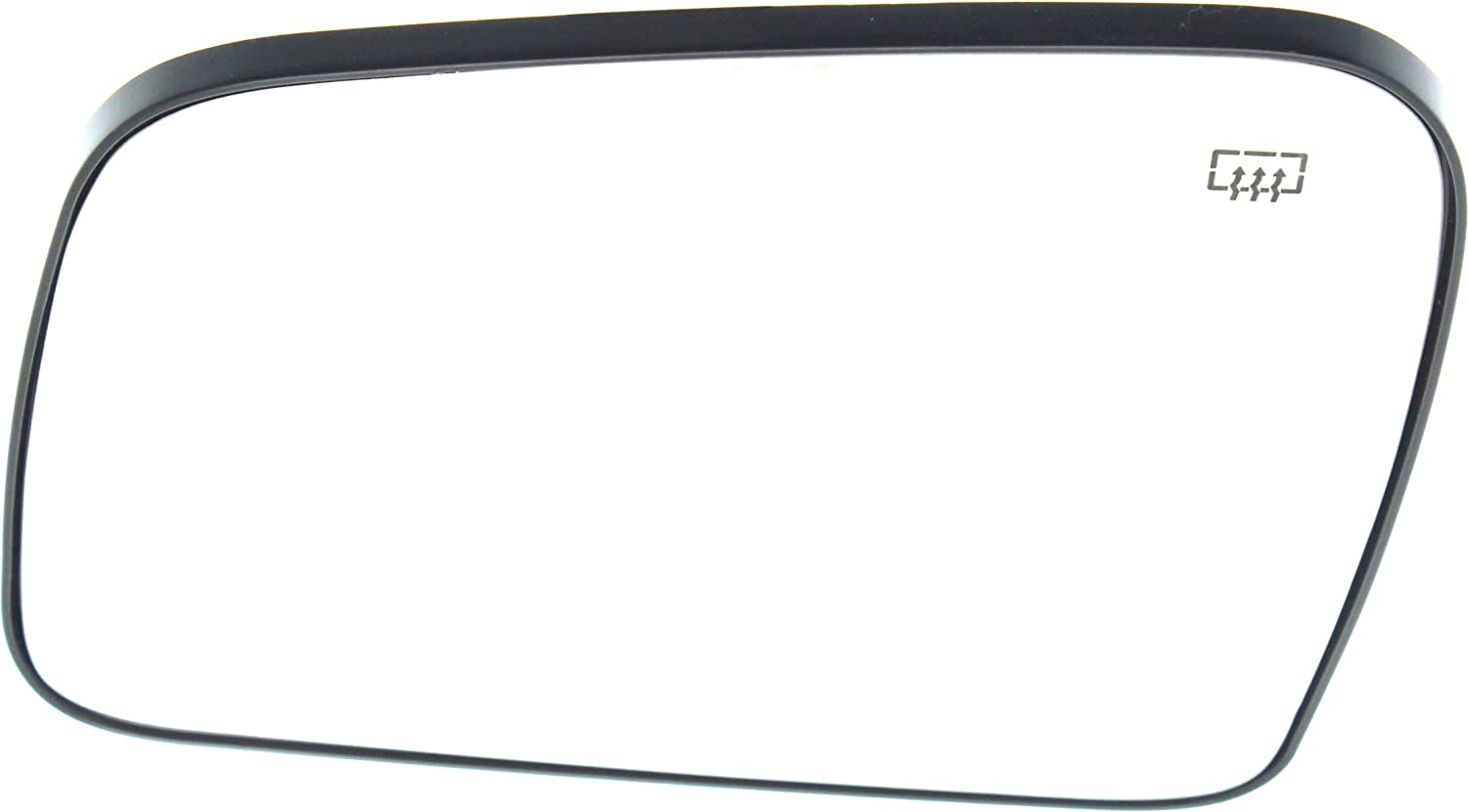 Kool Vue DG121GL Mirror Glass for Dodge Durango 11-18//Grand Cherokee 11-17 Left Side Heated With Backing Plate