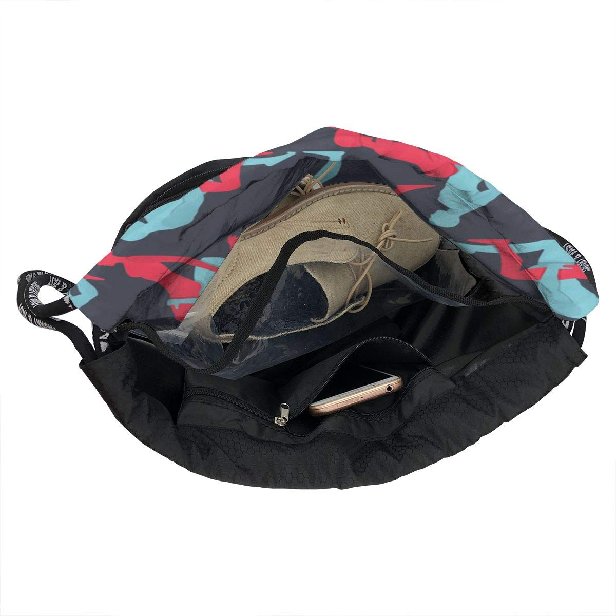 Zol1Q Multipurpose Drawstring Bag for Men /& Women Sex Cinch Backpack Tote Sack Large Storage Sackpack for Gym Travel Hiking