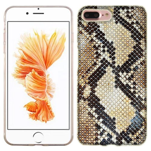 sports shoes 474e2 00baf Amazon.com: Apple iPhone 7 PLUS Case, Snake Skin Cover for Apple ...