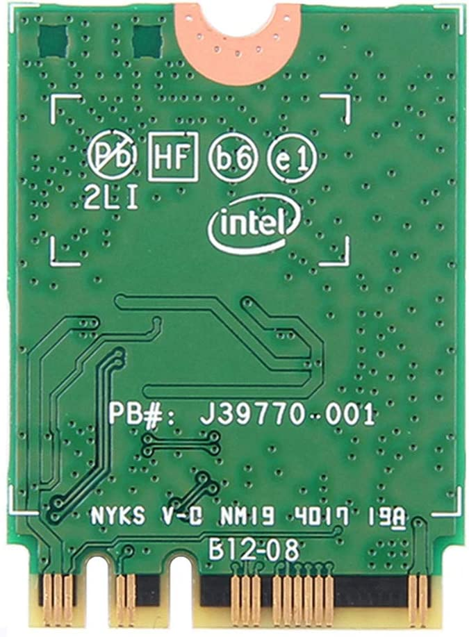 Yalehabi Dual Band 1.73Gbps Wireless AC for Intel 9260NGW Card NGFF M2 WiFi Bluetooth 5.0 Network Card