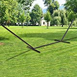 Double people Hammock Stand Universal Fit 9 to 15 ft Hammock Heavy Duty 12-gauge Steel Multi-Use 2 Person more than 450 Pound Capacity - Large Size
