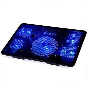 yayoushen Radiador del cuaderno negro radiador portátil soporte ventilador teclado base 800g: Amazon.es: Hogar