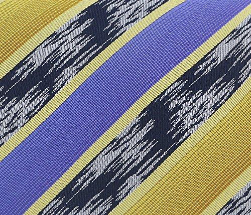 Missoni U3821 Gold//Purple//Navy Blue Regimental 100/% Silk Ties for Mens