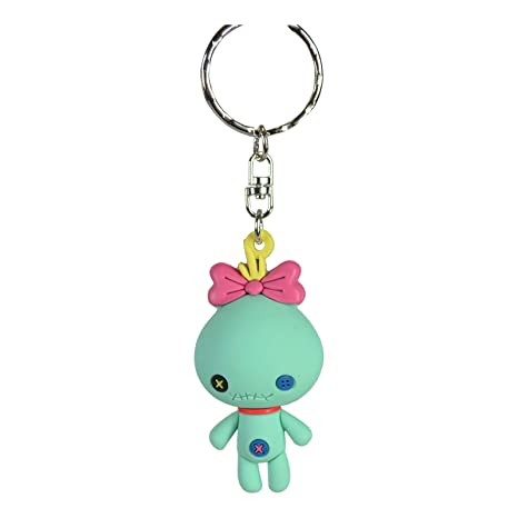 Llavero Disney Scrump Lilo y Stitch muñeca Monogram Goma 7 ...
