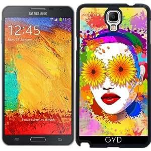 Funda para Samsung Galaxy Note 3 Neo/Lite (N7505) - Flores Niña De Los Ojos De Verano by BluedarkArt