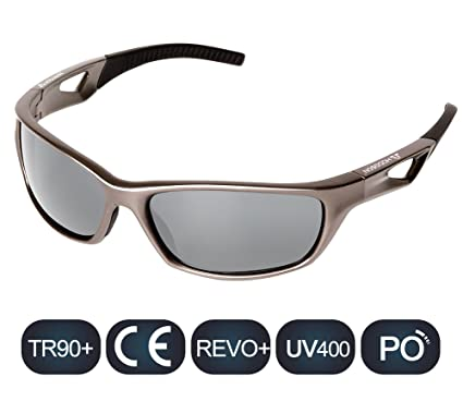HODGSON - Gafas de sol polarizadas deportivas para hombres o mujeres, protección UV400