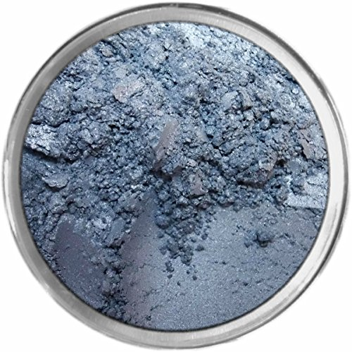 Glacier Loose Powder Mineral Shimmer Multi Use Eyes Face Color Makeup Bare Earth Pigment Minerals Make Up Cosmetics By MAD Minerals Cruelty Free - 10 Gram Sized Sifter Jar