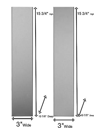 Kit de relleno universal de acero inoxidable en forma de L para ...