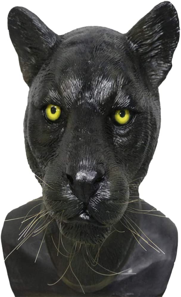MASCARELLO Pantera Negra máscara Pantera Pantera Bestia látex ...
