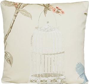 Nina Campbell Bird Cage Pillow Case Cream Cushion Cover Material
