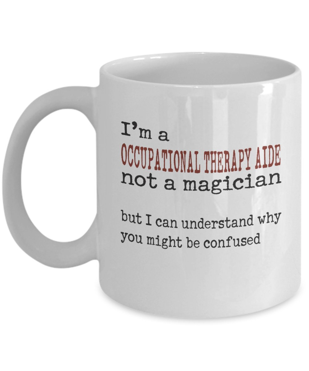 Amazon Occupational Therapy Aide Mug Im Occupational Therapy