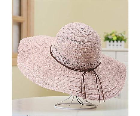 Damas Protección Solar Sombrero Sombrero de Verano Turbante de ...