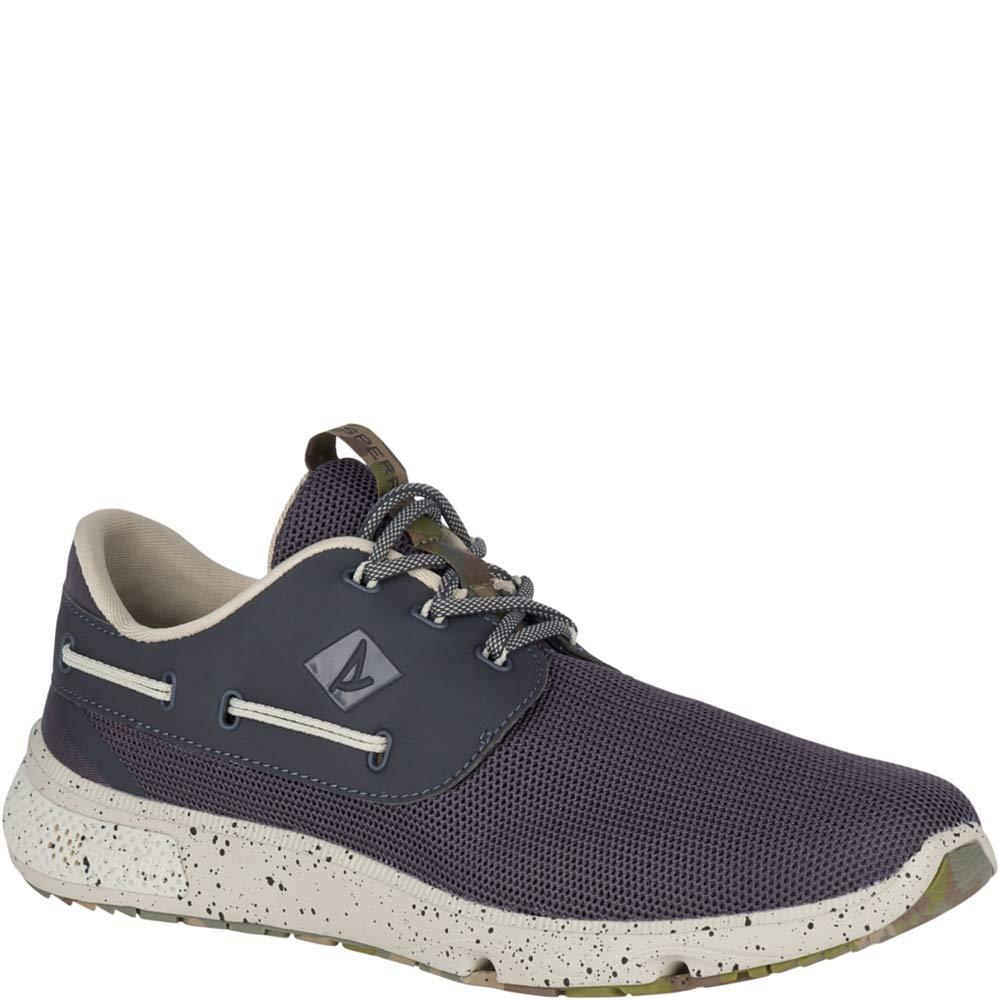 Sperry Top-Sider H2O 7 Seas 3-Eye Camo Sneaker Men 7 Grey