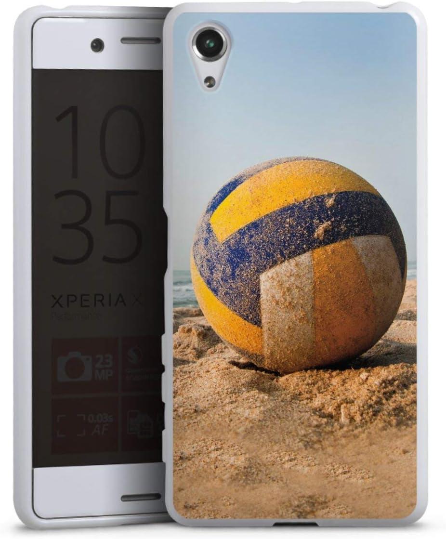 Sony Xperia X Performance móvil Case Funda Móvil Voleibol Playa de ...