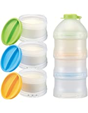 Simba Twist-Lock Stackable Formula Dispenser and Snack Containers