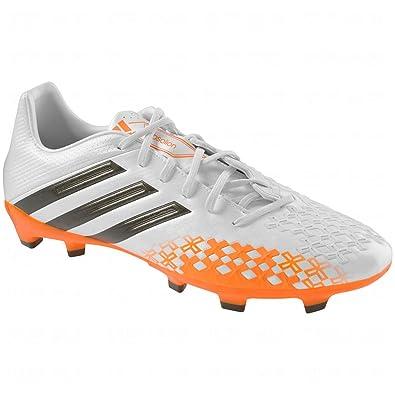 caa2e8cd0 adidas Mens P Absolion Lz TRX Fg Firm Ground Soccer Shoe (10.5) White/