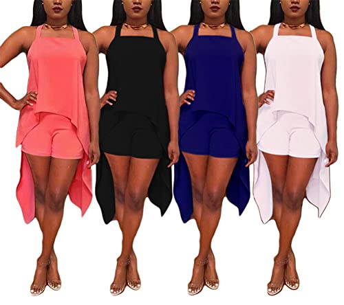 Women Sexy 2 Pieces Outfits Ba...
