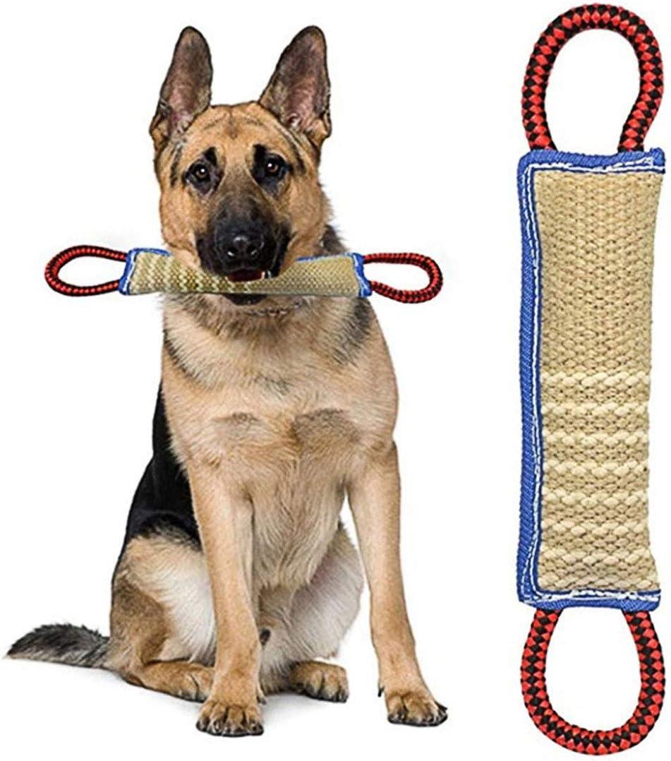 ZSWQ Mordedor Perro Juguetes para Perros Mordedor Perro - K9 Dummy y Motivador Canino Resistente y Duradero - Juguetes para Perros De Entrenamiento 30 x 7 x5 CM