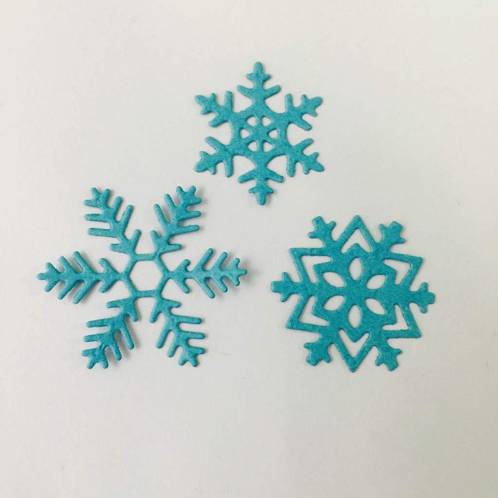 Tarjeta de Navidad que hace la herramienta de decoraci/ón Yiyilam Navidad Copo de nieve Troqueles de corte Plantilla Scrapbooking Grabado en relieve Tarjeta de papel Inicio