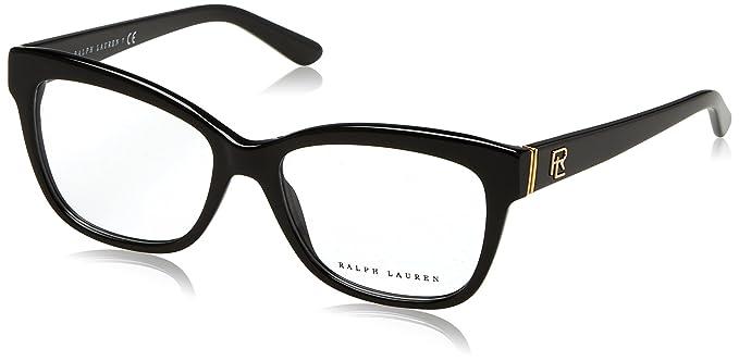 Ralph Lauren 0Rl6164, Monturas de Gafas para Mujer, Black, 53