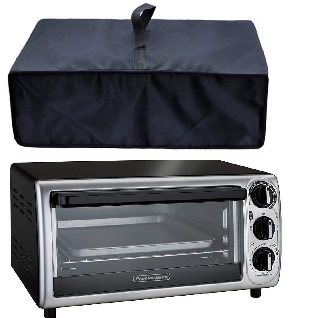 Heavy Duty Heat-Resistant Waterproof Dust-proof Cover for Hamilton Beach 31123D Easy Reach Toaster Oven/Countertop Toaster Oven 6-Slice & Auto Shutoff 31127