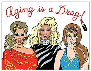 Rupaul Drag Race Birthday Card