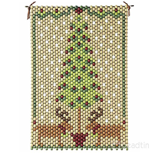 (Homespun Holiday Beaded Banner Kit - The Beadery Craft Products - 7312)