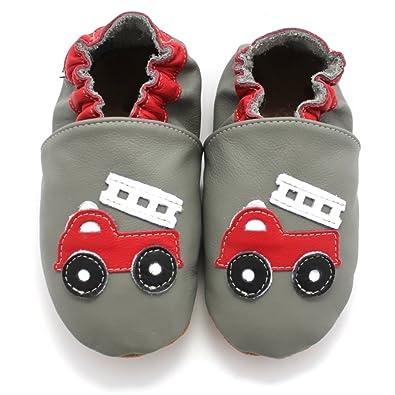 fd41c2b269037 Meli Melo bio - Chaussons Cuir Souple Pompier  Amazon.fr  Chaussures ...