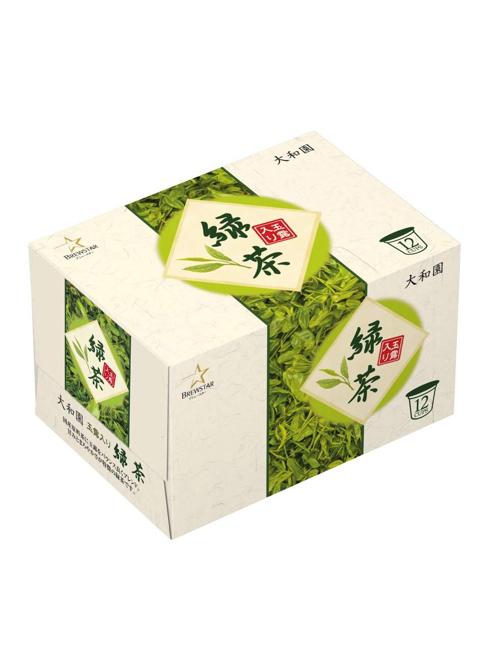 【使い勝手の良い】 Kカップ 大和園 玉露入り緑茶 3g×12個入 キューリグコーヒーマシン専用 B07PLZPMVK 玉露入り緑茶 10箱セット 3g×12個入 120杯分 B07PLZPMVK, イワフネマチ:95a10658 --- svecha37.ru