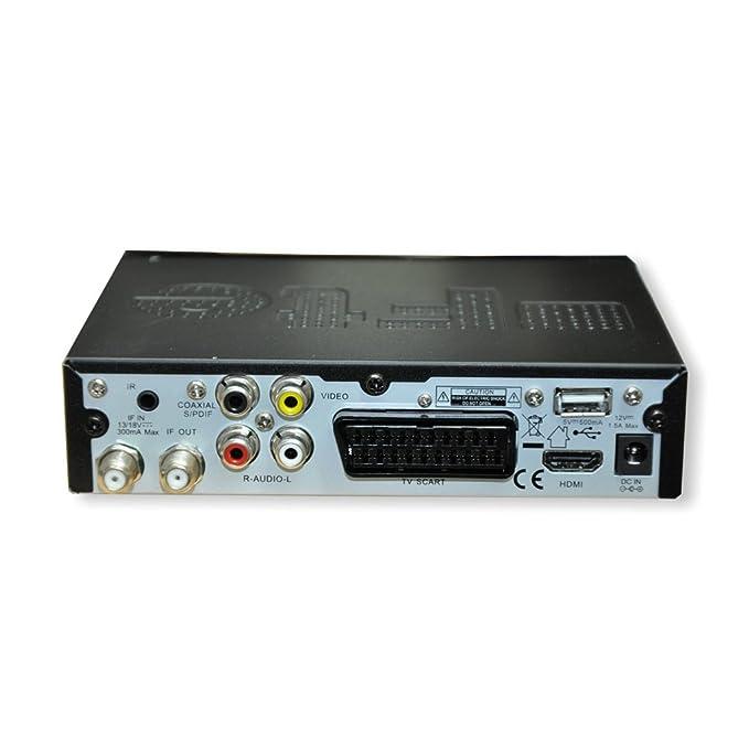 FTE Extreme HD FLEX HDTV receptor satélite con 12 V fuente de alimentación, cable de conexión de 12 V y IR Sensor Externo: Amazon.es: Electrónica