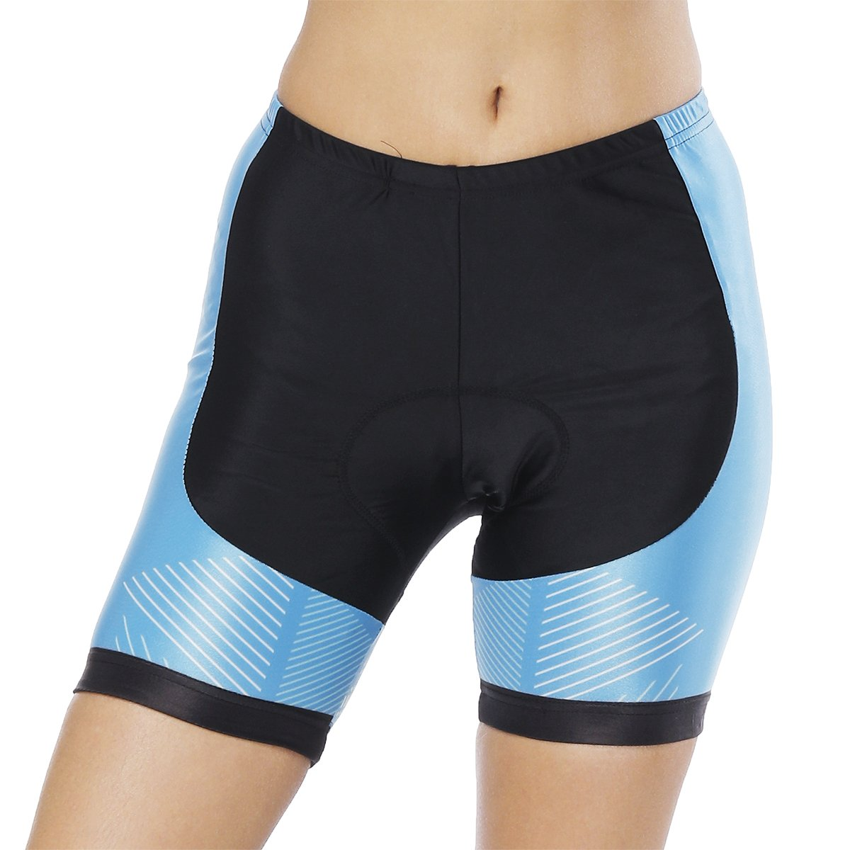 Womens Bike Shorts for Cycling with 3D Padded Pink Ride Women Cycling Shorts Blue S