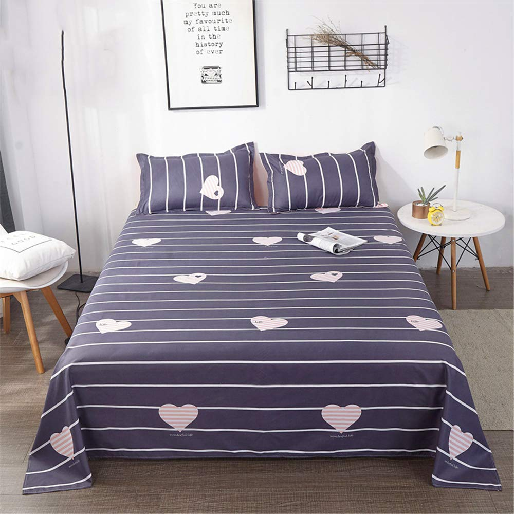 Sheets Single Piece ins Wind Summer Student Dormitory Single Double Nordic Girl Summer Sweet Life 200230cm by iangbaoyo