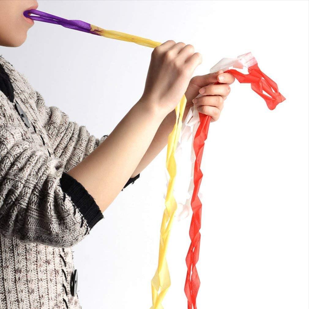 Papel de vómito de bobina de 12 bocas, papel de rollo de boca, accesorios realistas mágicos, magia interesante, suministros de mago, juguetes, herramientas de juego (color
