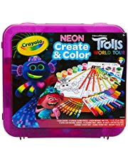 Crayola Trolls Neon Create & Color Art Set