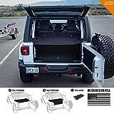 GPCA Cubierta de Carga Lite para Jeep Wrangler JL 4DR Sports/Sahara/Libertad/Rubicon Unlimited 2018-2019 Modelo (bajo Techo rígido/Blando), Under SoftTop, W69 X H29 X D0.5