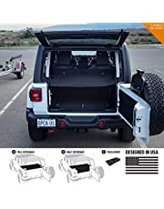 GPCA Cargo Cover LITE for Jeep Wrangler JL 4DR Sports/Sahara/Freedom/Rubicon Unlimited 2018-2019 Model (Under Hardtop/softtop)