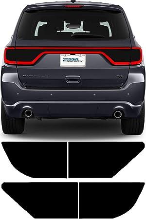 Matte Smoke Rvinyl Rtint Headlight Tint Covers for Dodge Durango 2014-2020