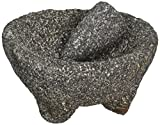IMUSA Lava Rock Molcajete - Mexican Mortar and Pestle (Made in Mexico of Volcanic Stone) MEXI-2008