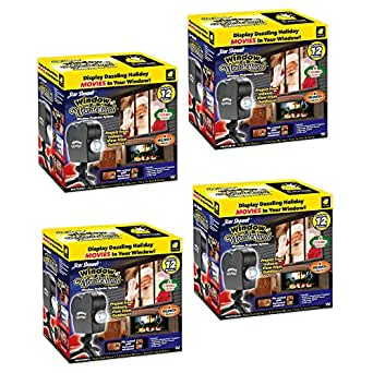 New 2017 Star Shower Window Wonderland by BulbHead (4 Pack)