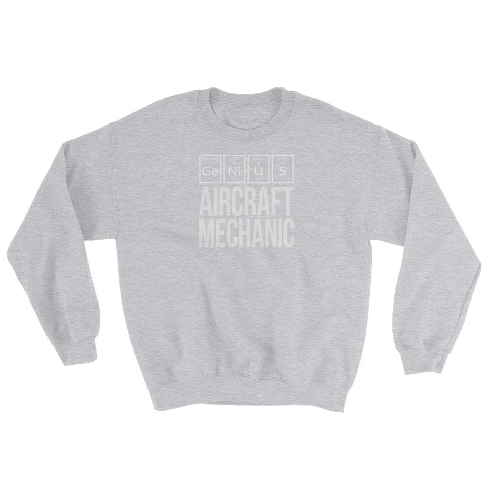 Genius Aircraft Mechanic Sweatshirt