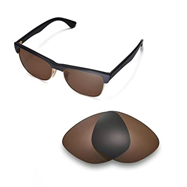 5fba2b7d97 Walleva Replacement Lenses for Ray-Ban RB4175 57mm - Multiple Options  (Brown - Polarized