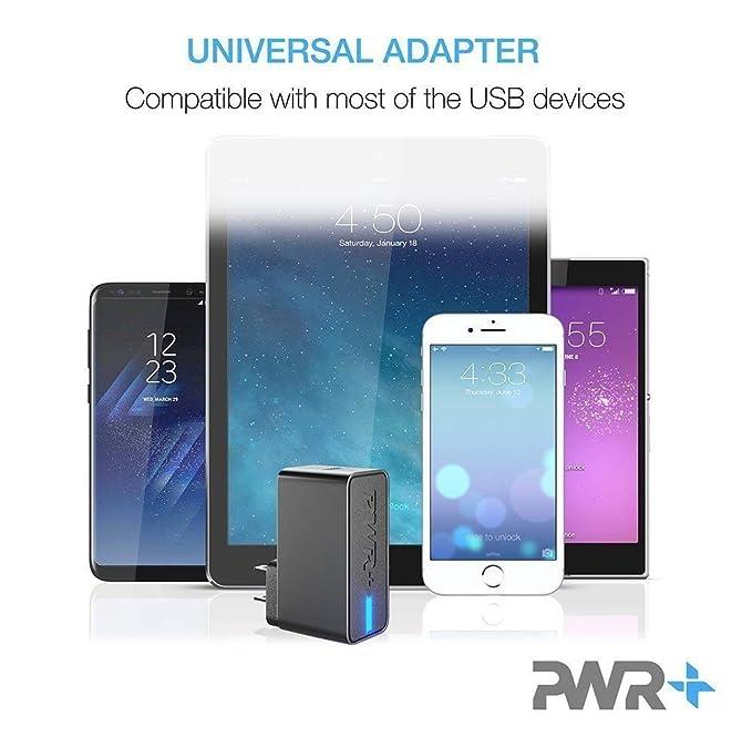 Pwr - Cargador USB para Carga rápida Compatible con Google ...