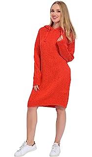 40415aafb2a ARTY BLUSH Robe Pull en Laine col roulé Femme  Amazon.fr  Vêtements ...