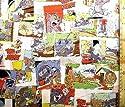 キャラクター生地・トムとジェリー(カラー)#5(キャラクター 生地 布 キャラクター生地 ピロル)の商品画像