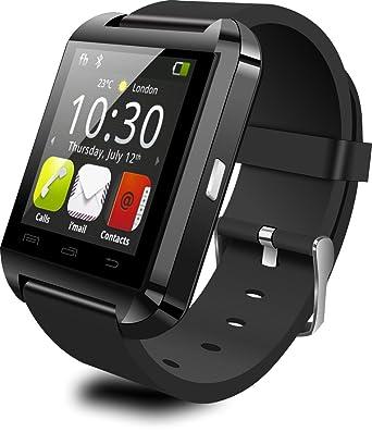 Bluetooth 4.0 Reloj Inteligente U8 Fit para smartphones iOS Android 4.3 sistema reloj de pulsera deportes