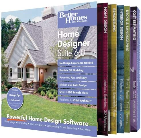 Amazon Com Better Homes And Gardens Home Designer Suite 6 0 Old