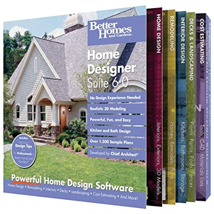 Amazon Com Better Homes And Gardens Home Designer Suite Old