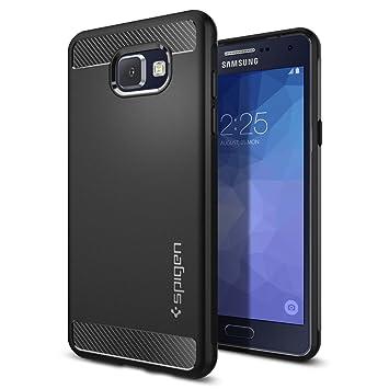 0cd5bb70dd2 Funda Samsung Galaxy A5 2016, Spigen [Rugged Armor] Resistente [Negro]  Rugged